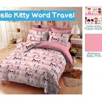 HK WORLD TRAVEL PINK